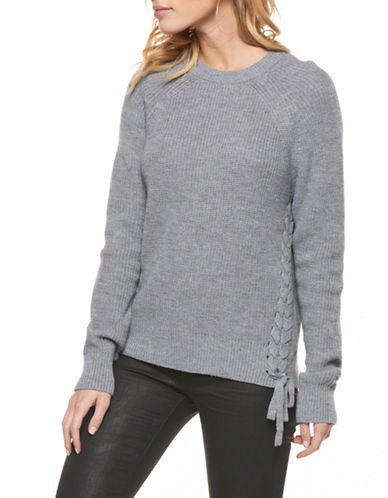 Dex Crewneck Sweater-GREY-Small