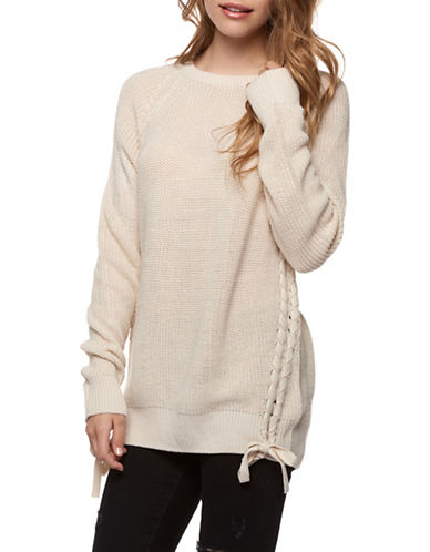 Dex Crewneck Sweater-BEIGE-Large