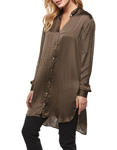 Dex Saint Longline Tunic-DARK OLIVE-Large