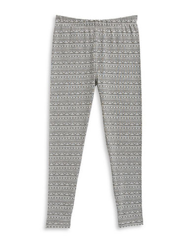 Dex Aztec-Print Leggings-GREY-6