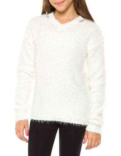Dex Eyelash Sweater-IVORY-14