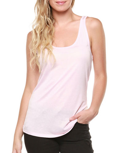 Dex Shimmer Tank Top-PINK-Large
