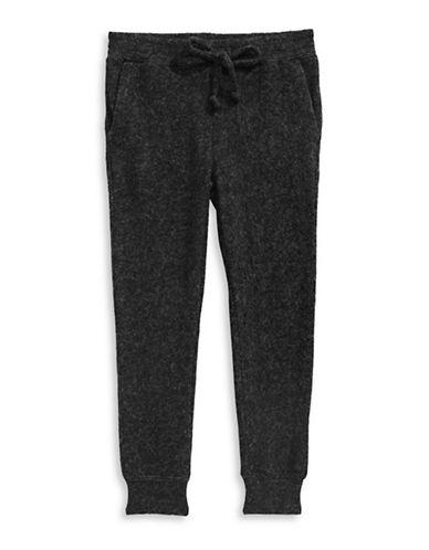 Dex Melange Jogger Pants-GREY-4