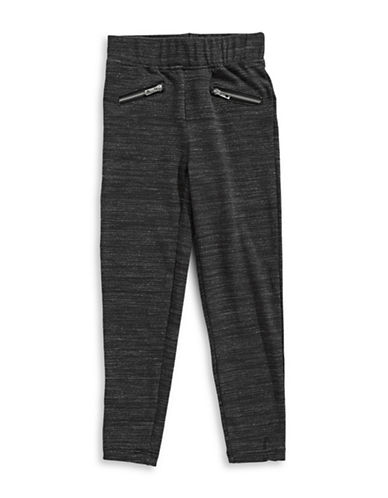 Dex Zip Pocket Pants-GREY-6X