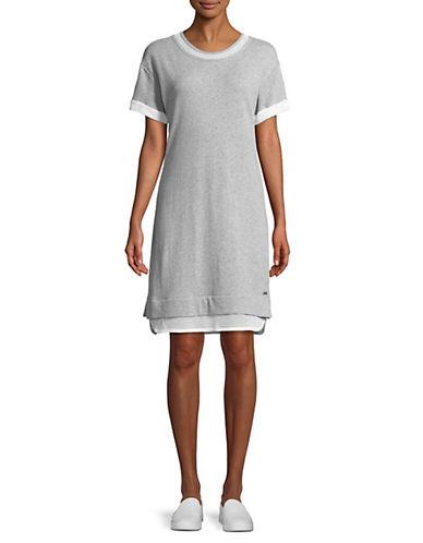 Marc New York Performance Mesh Cotton T-Shirt Dress 90145432