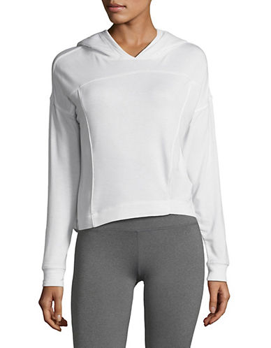 Marc New York Performance Long-Sleeve Cropped Hooded Top 90017138