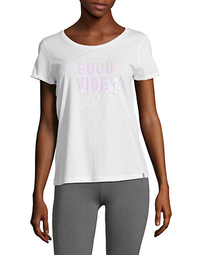 Marc New York Performance Good Vibes Sequin Tee 90017150