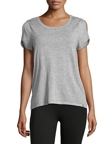 Marc New York Performance Twisted Cold Shoulder Tee 90079705