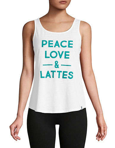 Marc New York Performance Peace Love and Lattes Top 90017143