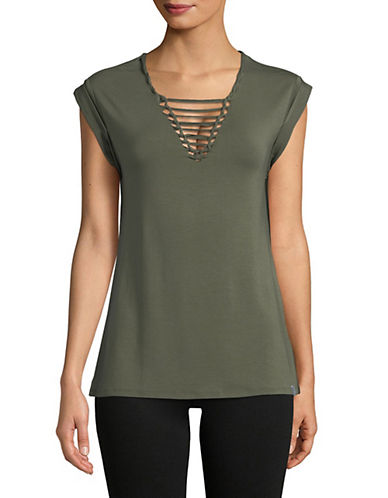 Marc New York Performance Knotted-Front Top 90017125