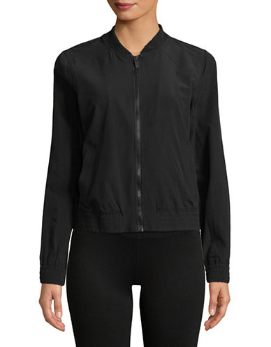 Marc New York Performance Full-Zip Bomber Jacket-BLACK-X-Large 89970552_BLACK_X-Large