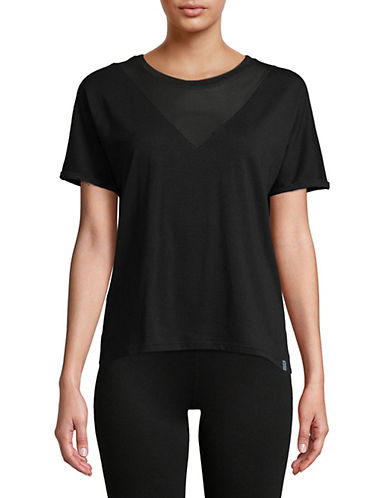 Marc New York Performance Mesh Yoke Short-Sleeve Tee-BLACK-Medium 89970612_BLACK_Medium