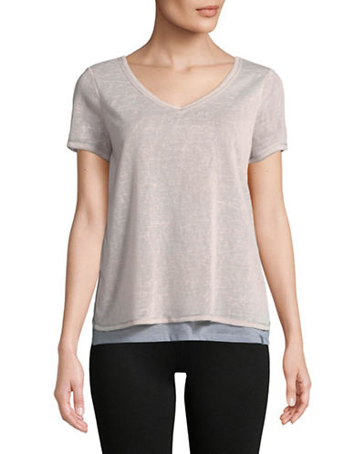 Marc New York Performance Layered Short-Sleeve Tee-PINK-Large 89970603_PINK_Large