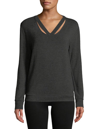 Marc New York Performance Cold Clavicle Sweatshirt-GREY-X-Large
