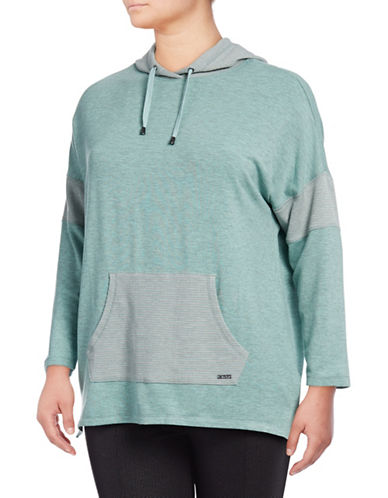 Marc New York Plus Plus Thermal Hooded Tunic-MINT-1X