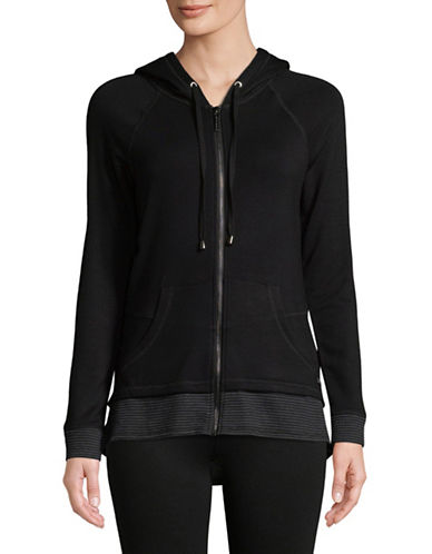 Marc New York Performance Full-Zip Thermal Hoodie-BLACK-Small