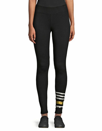 Marc New York Performance Banded Leggings-BLACK-Medium
