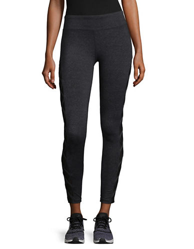 Marc New York Performance Lace-Up Leggings-GREY-X-Large