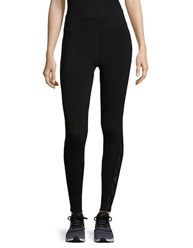 Marc New York Performance Lace-Up Leggings-BLACK-X-Large