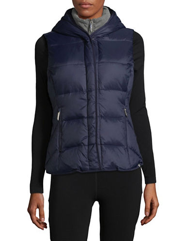 Marc New York Performance Hooded Puffer Vest-BLUE-Medium