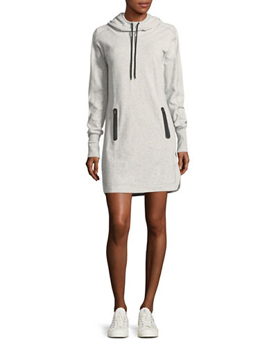 Marc New York Performance Hoodie Dress-GREY-Large 89705942_GREY_Large