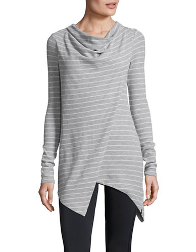 Marc New York Performance Striped Thermal Tunic-GREY-Medium 89705991_GREY_Medium