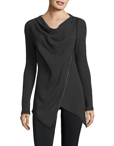Marc New York Performance Asymmetric Thermal Top-CHARCOAL-Medium 89589087_CHARCOAL_Medium