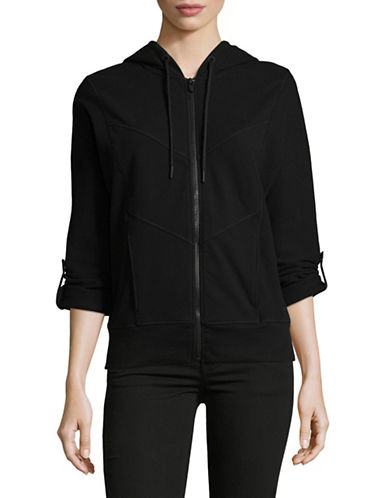 Marc New York Performance Thermal Zip Up Hoodie Jacket-BLACK-Large