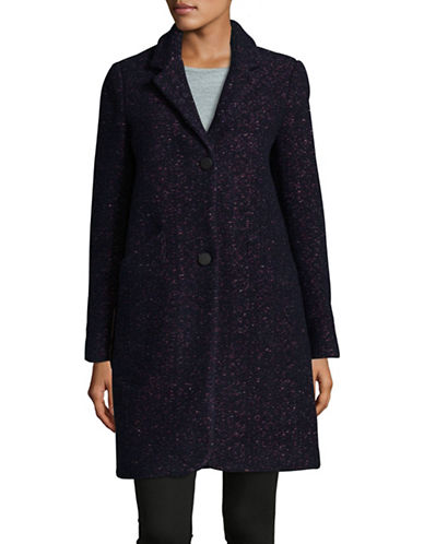 Marc New York Woven Reefer Coat-MULTI-4