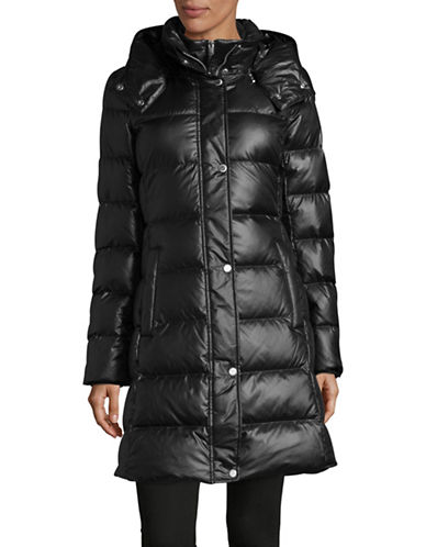 Marc New York Quilted Hood Parka-BLACK-X-Large