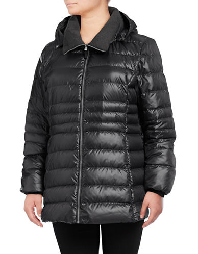 Marc New York Sweater-Weight Premium Down Jacket-GUNMETAL-3X 89640287_GUNMETAL_3X