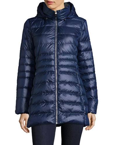 Marc New York Sweater-Weight Quilted Jacket with Premium Down-BLUE-Medium