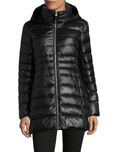 Marc New York Sweater-Weight Quilted Jacket with Premium Down-BLACK-Large