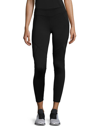 Marc New York Performance Long Comp Leggings-BLACK-Medium