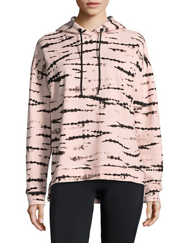 Marc New York Performance Tie Dye Pullover Hoodie-PINK-Small
