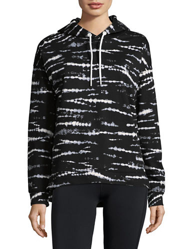Marc New York Performance Tie Dye Pullover Hoodie-BLACK-Large