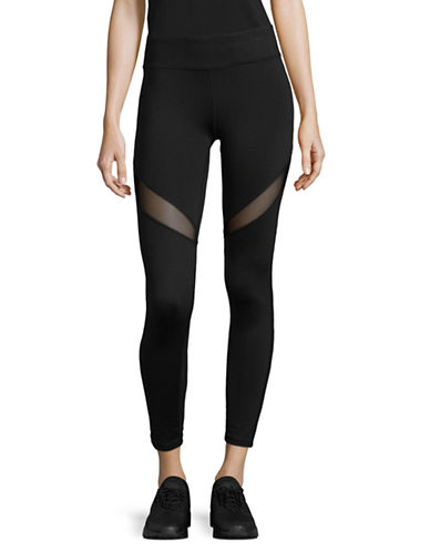 Marc New York Performance Compression Mesh Leggings-BLACK-Large
