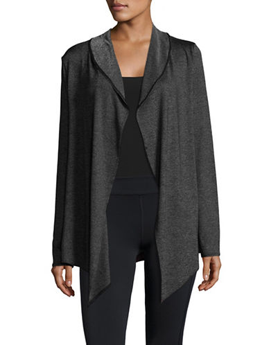 Marc New York Performance Cascade Cardigan-BLACK-Large
