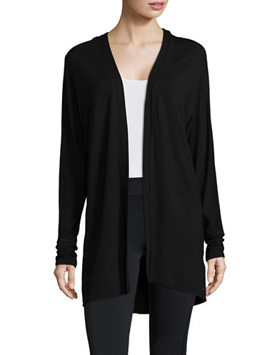 Marc New York Performance Open Cardigan-BLACK-Small