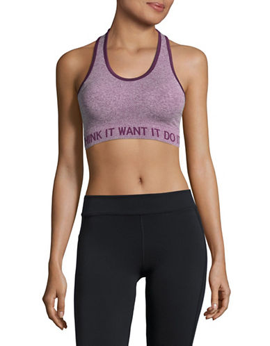 Marc New York Performance Inspo Sports Bra-PURPLE-Small