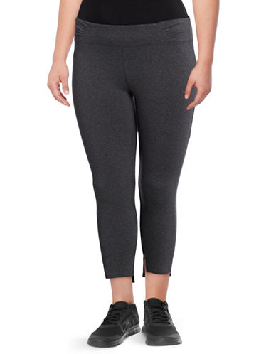 Marc New York Plus Step Cuff Leggings-GREY-3X
