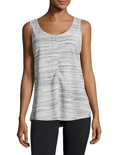Marc New York Performance Space Dye Crisscross Strap Tank-MIDNIGHT-X-Large
