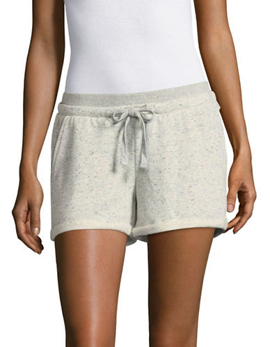 Marc New York Performance Cuffed French Terry Shorts-GREY-Large