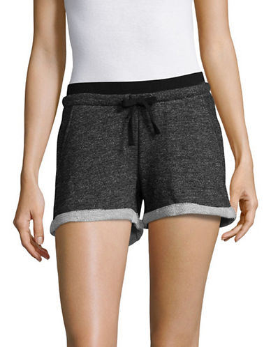 Marc New York Performance Cuffed French Terry Shorts-BLACK-X-Small 89299035_BLACK_X-Small