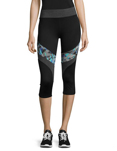Marc New York Performance Print Mesh Active Crop Leggings-PETUNIA-Small 89299020_PETUNIA_Small