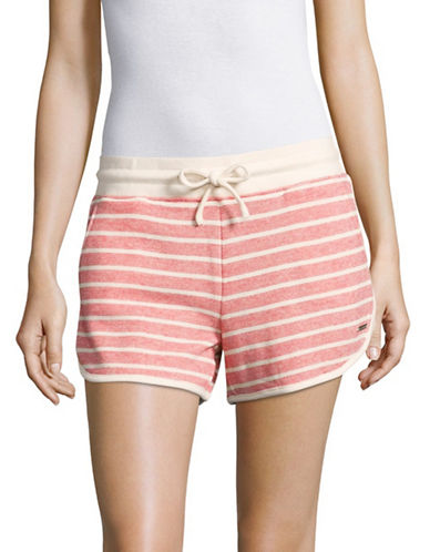 Marc New York Performance Stripe Dolphin Shorts-PATRIOT/IVORY-Large 89236140_PATRIOT/IVORY_Large
