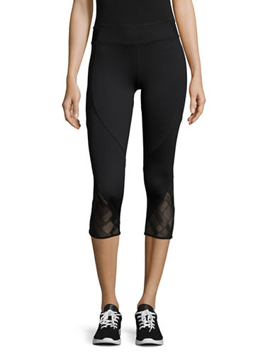 Marc New York Performance Cropped Active Leggings-BLACK-Medium 89236117_BLACK_Medium