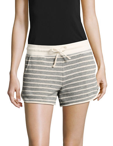 Marc New York Performance Stripe Dolphin Shorts-MIDNIGHT-X-Small 89236104_MIDNIGHT_X-Small
