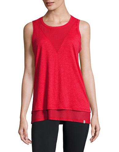 Marc New York Performance Mesh Twofer Tank-PATRIOT-Large