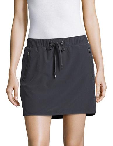 Marc New York Performance Active Skort with Inner Mesh Shorts-CHARCOAL-Medium 89158755_CHARCOAL_Medium